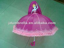 Princess Cartoon Character Children Umbrella