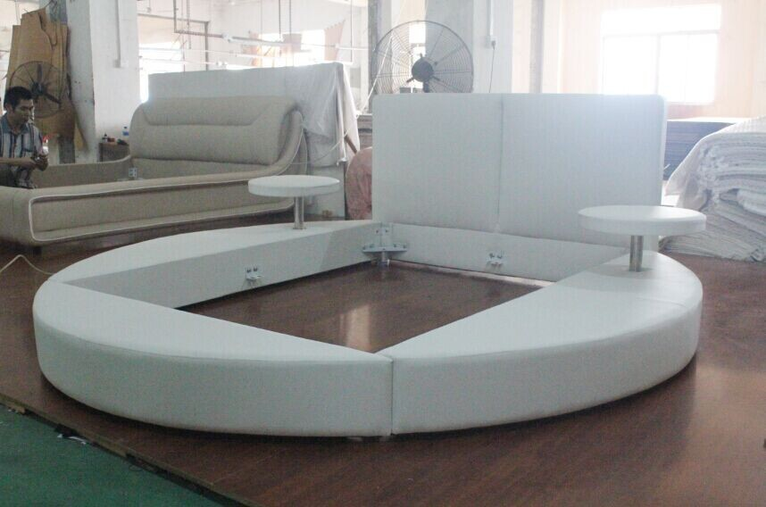 Furniture china furniture manufacturer modern sofa corner sofa - 852 Round Sofa Bed King Size Round Bed On Sale Buy Round