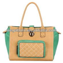 Embroider Stylish Big Fashion Women Leather Handbags