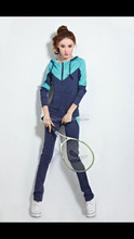 new fashion best price quality custom plain polyester tracksuit