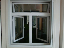 Hot sale aluminium frame aluminium casement window with mosquito net