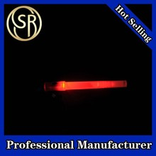 Promotional Gift 7.8 Inches LED Light Glow Whistle Stick With Flashlight