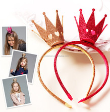 Party costume kids hair accessories set child crown hairbands headband