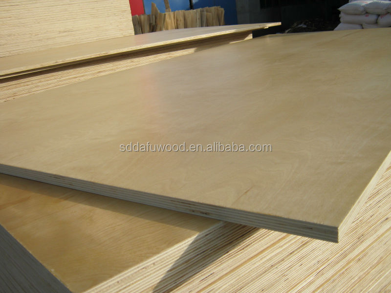 Cabinet Grade Plywood ~ Uv birch plywood for cabinet grade laminated