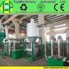 Waste PP film reprocessing machine |agriculture film, waste jumbo bags crushing washing recycling machinery plant