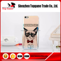 Cute dog design tpu mobile phone case cover for iphone 5s blue light case