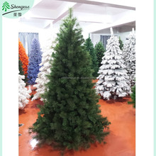 hot sale 2015 new mixed pine needle PVC christmas tree artificial abjoint pine tree branch