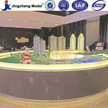 Office building model miniature / miniature building model