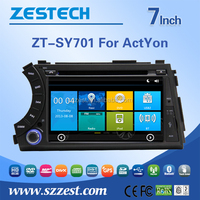 car audio for ssangyong actyon car audio dvd player multimedia with high quality