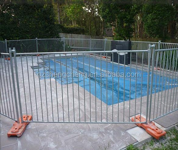 Cl ture de piscine amovible sur le site de la vie priv e for Cloture de piscine amovible