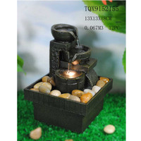 Mini size indoor decorative battery operated water fountain