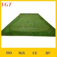make miniature golf putting green