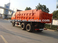 6x4 Dongfeng 210 horse power 30 ton sand tipper truck for sale