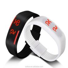 New Sports Bracelet Led Watch 2015 Sport Watch Fashion Digital Watch Date Time Men Wristwatch Waterproof Colorful Rubber Band