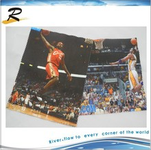 basketball star printed glasses wiping cloth for men