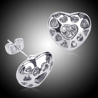 ladies heart earrings saudi white gold jewelry gps tracker earrings for kids designs pictures