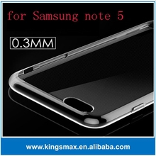 Clear Transparent Case for Samsung note 5 with 0.3mm thin