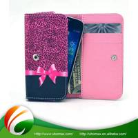 Quality Assured With Custom Logo Book Type Leather Case For Iphone 5