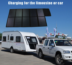 big folding sunpower best quality high efficiency 120v solar panel