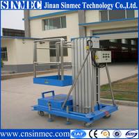 SINMEC Portable vertical aluminum hydraulic lift for painting