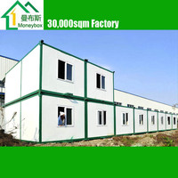 multi floor portable modular platpack Container prefab houses/ dormitory