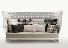 Moderno jardín muebles de exterior sofá DH-9580
