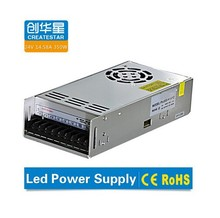 350w 24v dual switch power supply led driver with high quality