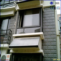 100L balcony hanging flat panel solar power system