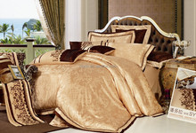 Jacquard bedding with mattress cover quilt cover pillowcase