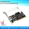 High Speed 4 channel 3D Audio Card 4CH PCI Sound Card with CMI8738 chipset