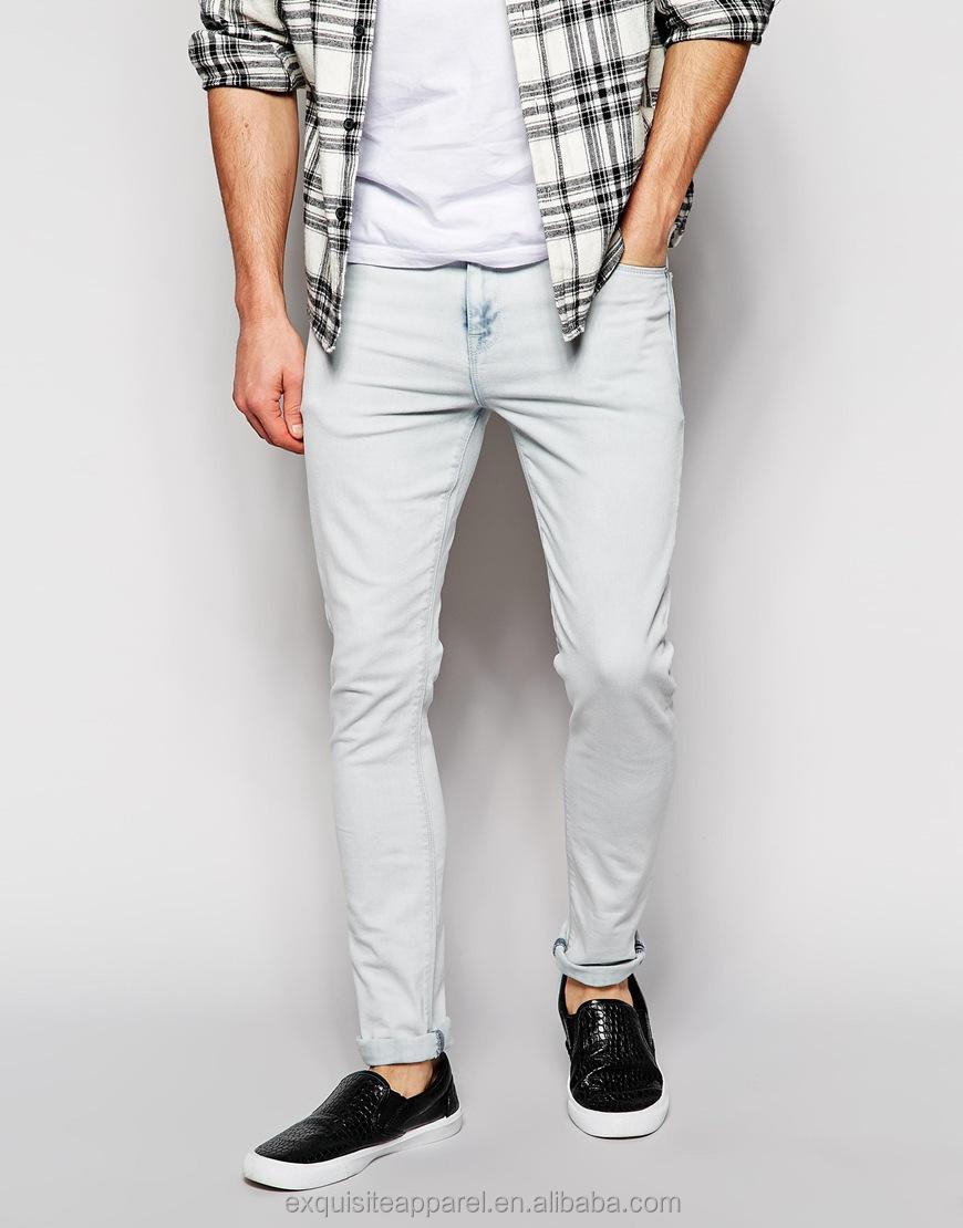 2015 High Quality Top 10 Brands Mens Jeans Pants Wholesale Soft 100% Cotton Famous Jeans Pants ...