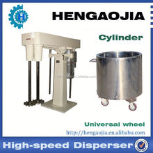 High speed dispersing machine for dye,paint,coating material,cosmetics