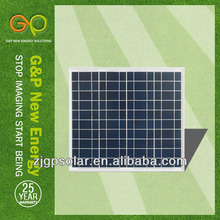 Best choice:G&P 20WP Poly solar module,high qualtiy:Cell from Germany with TUV,CE,UL,CSA,CNF