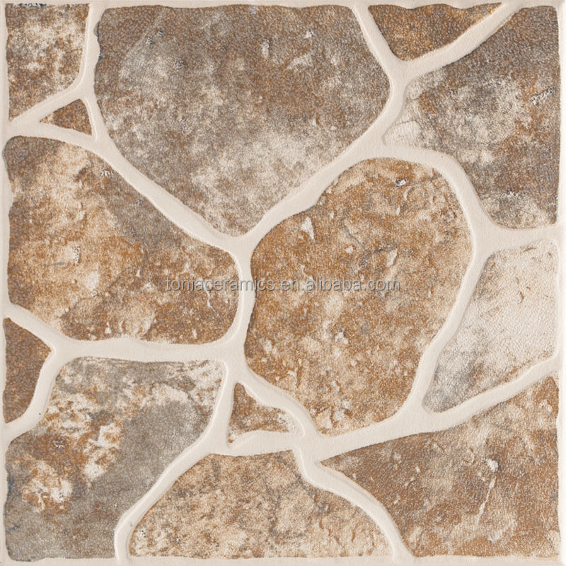 Azulejo Para Baño Antiderrapante:Cobblestone Ceramic Floor Tiles
