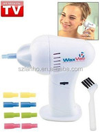WAXVAC CORDLESS EAR VACUUM CLEANING CLEANER SYSTEM WAX VAC AS SEEN ON TV