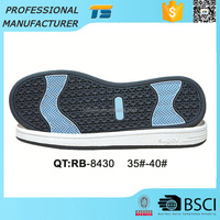 China woman's Slip-resistant Summer sports shoes soles for shoe making skateboarding shoes men