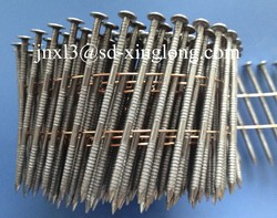 2.5*70 mm Pallet Coil Nail/Zince Coil Nails /Painted or Polished Coil Nail for pallet
