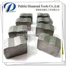 Diamante segmento para el corte de bloques de granito