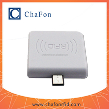 micro rfid reader with usb interface can be used used in pc via OTG Converter