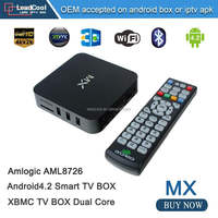 2015 good quality haho android tv box dual core RAM 1G ROM 8G MX Android media player