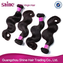 Body wave 100% unprocessed high quality wholesale hairstyles brazilian hair