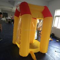 CILE 2015 hot selling custom inflatable grab money machine