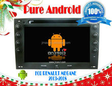 Pure Android 4.2 audio steering wheel control FOR Renault Megane (2003-2008) RDS,Telephone book,AUX IN,GPS,WIFI,3G,Built-in