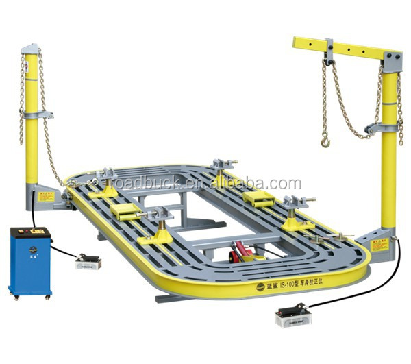 Pl 3 Hydraulic Post Puller : Road buck is auto body repair tools chief frame