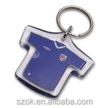 hot sell cheap printed acrylic keychain