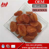 yellow dry apricot
