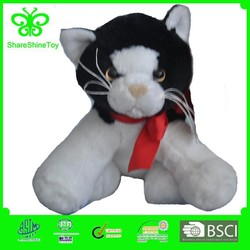 plush toy black cat toy cats that look real