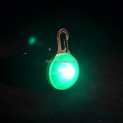Promotion gift led pendant light bone shaped pet blink lights for pet