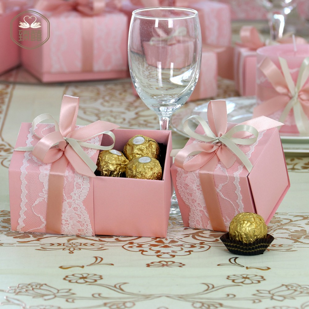 Global Small Size Hot Selling Pink Puberty Ceremony Gift Box - Buy ...