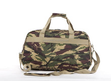 Camouflage color travel duffle bags